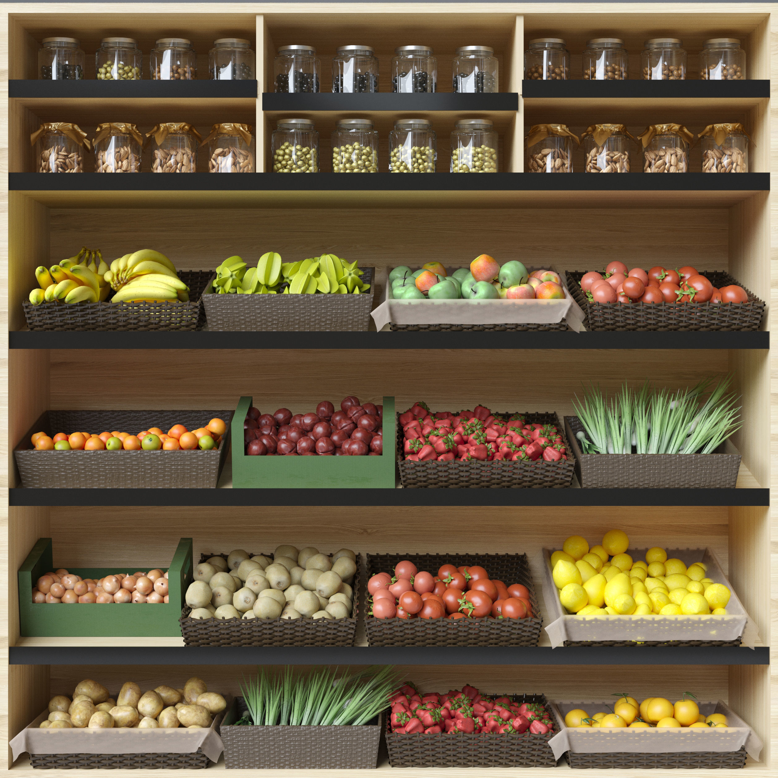 Fruit Shelf 2