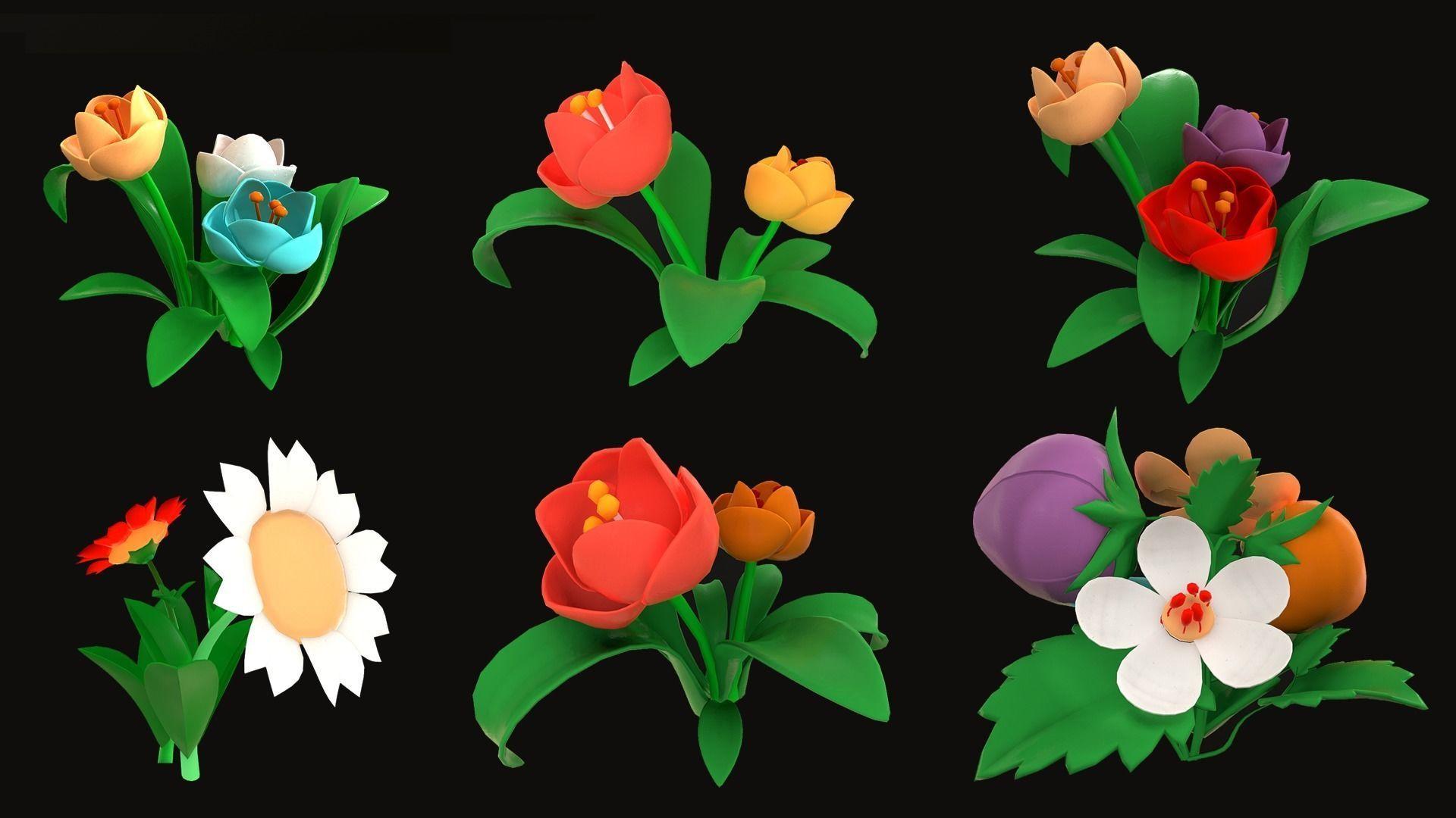 Asset - Cartoons - Flower
