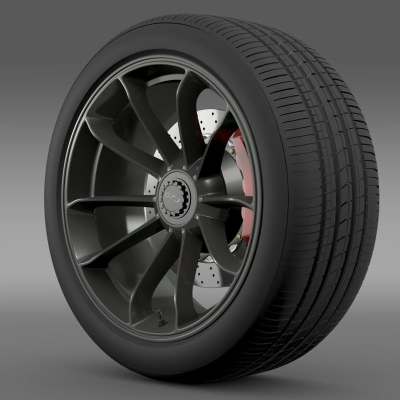 Porsche 911 GT3 2014 wheel