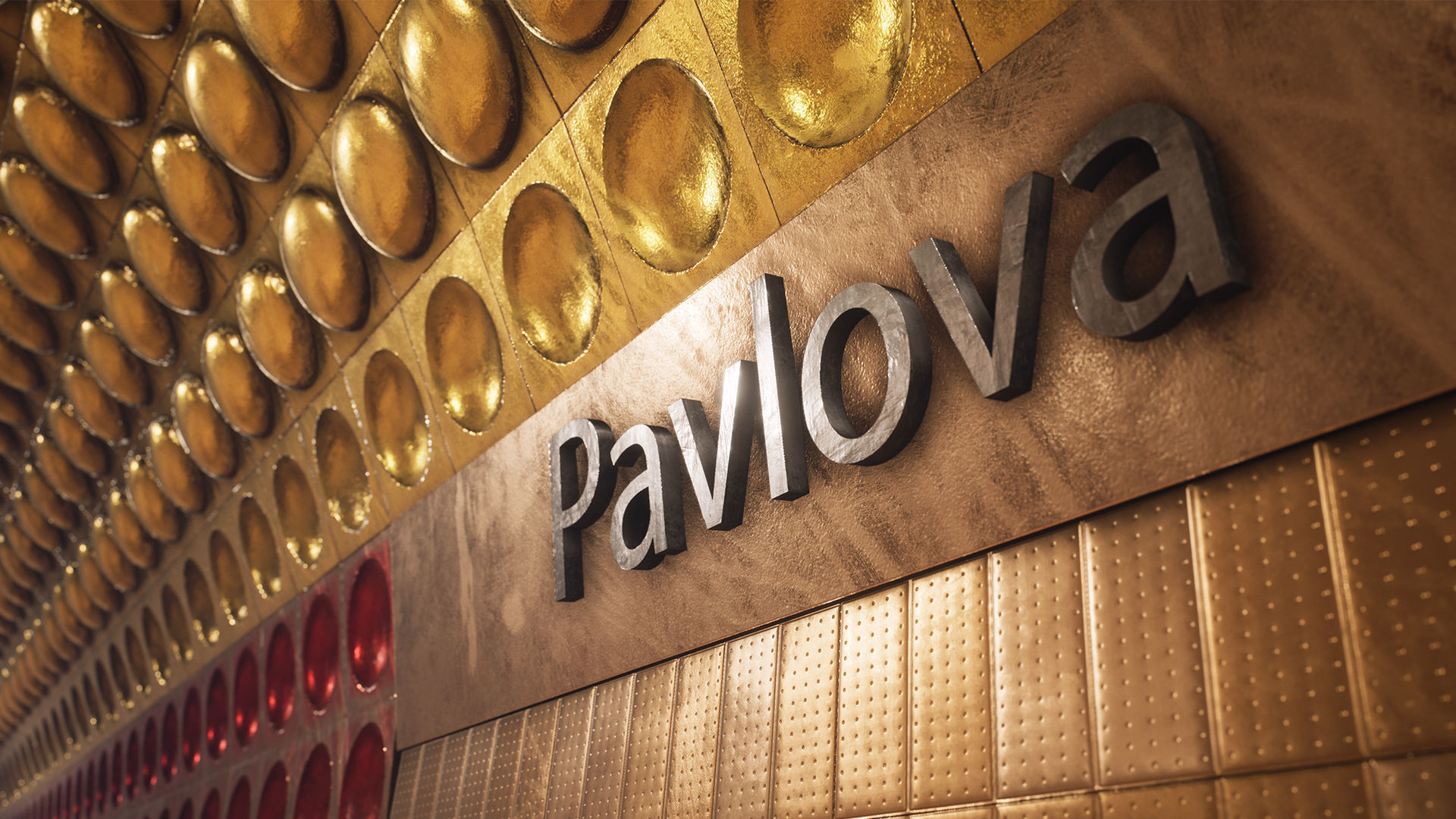 Pavlova Metro Station | 3D model