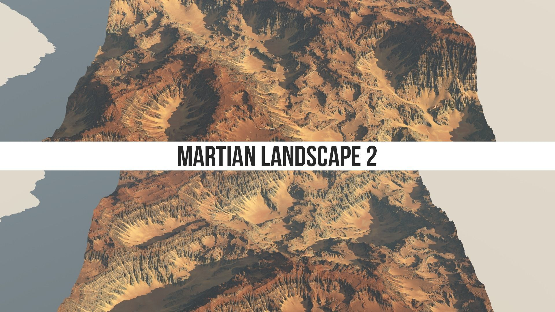 Martian Landscape 2 8k Heightmap Pack   Texture