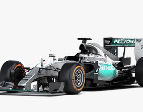3D model F1 Mercedes AMG W06 Formula 2015