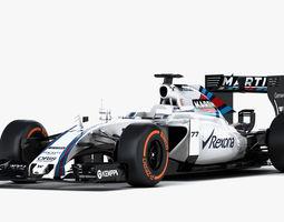 3D model F1 Williams Mercedes FW37 Formula 2015