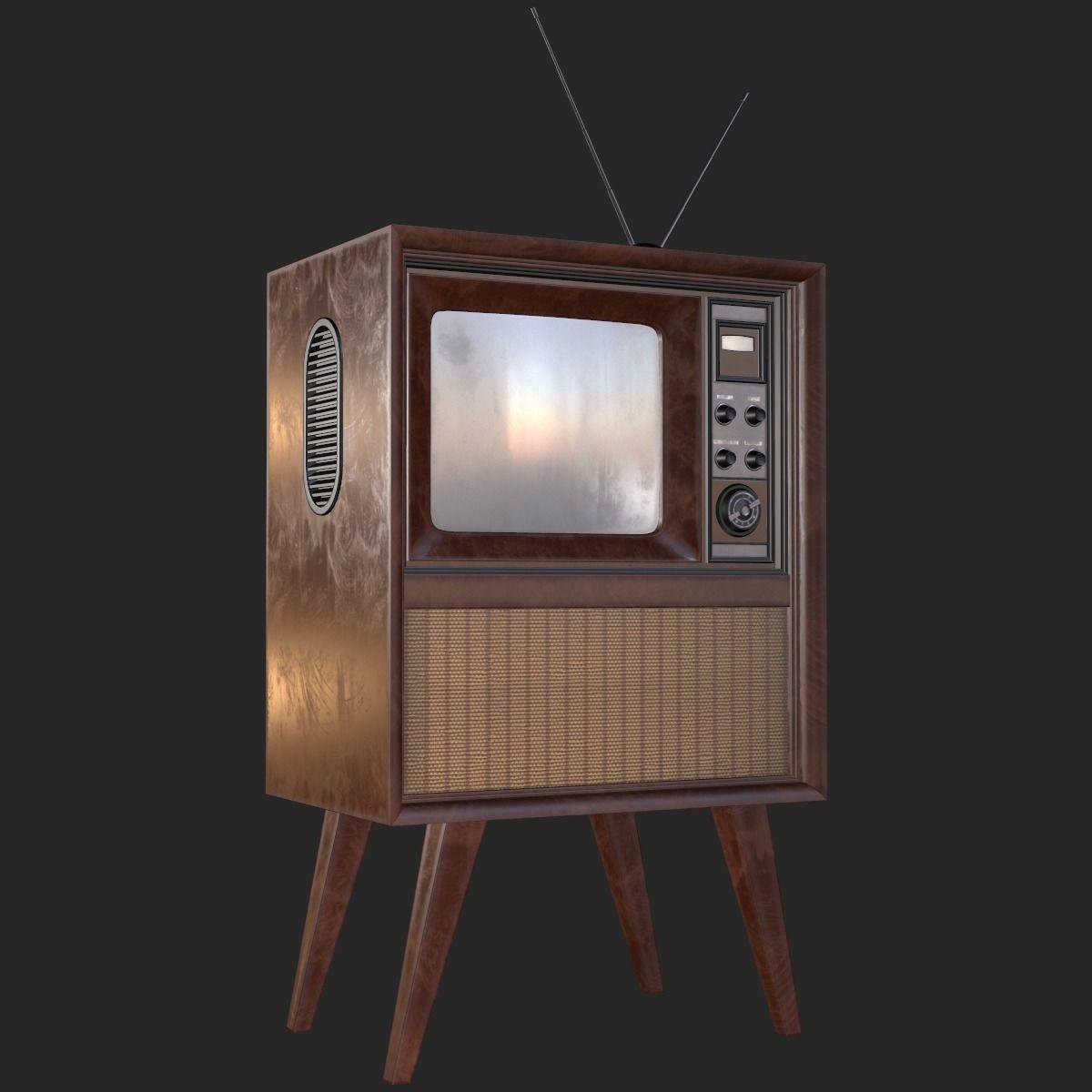 Retro Vintage TV PBR