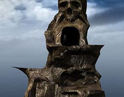 Skull Rock Mountain 3D asset