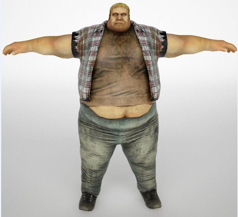 Man fat
