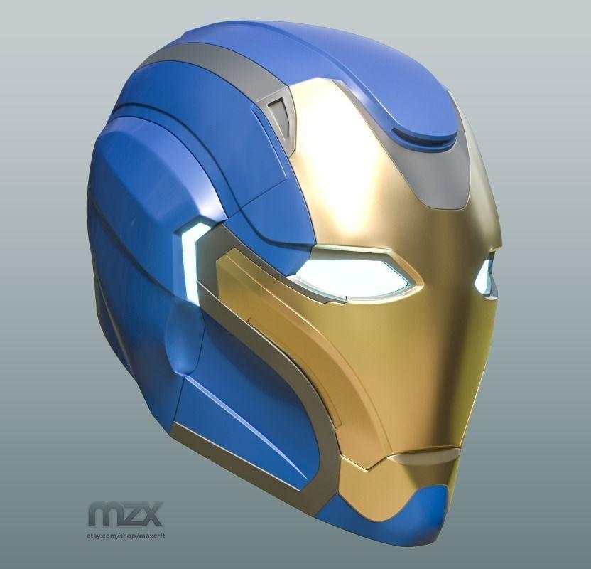 Pepper Pots Mark 49 helmet model for 3D-printing DIY | 3D Print Model