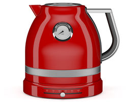 3d red electric kettle