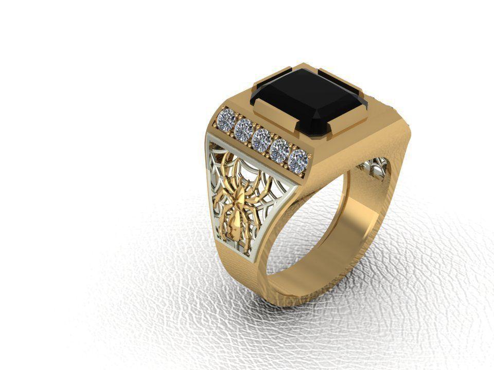 3D printable model Ring-man-spider | CGTrader