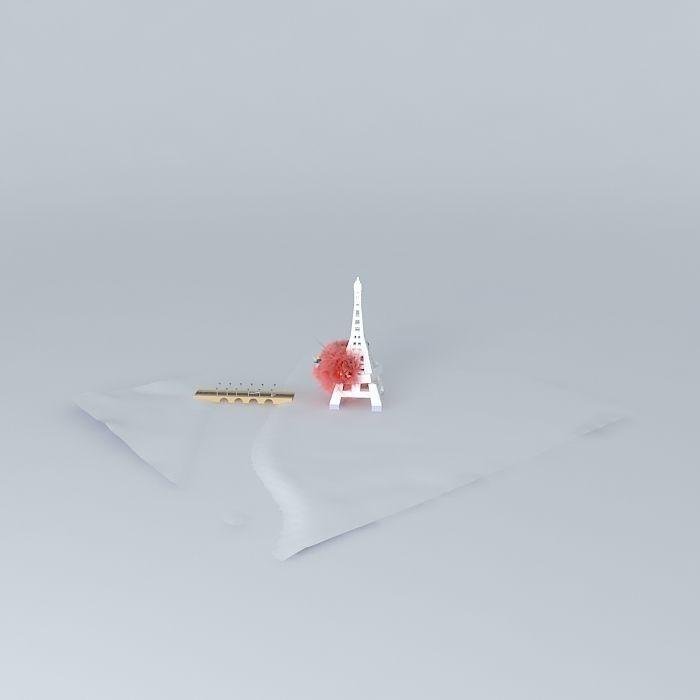 Eiffel Tower Crash Free 3d Model Max Obj 3ds Fbx Stl Skp