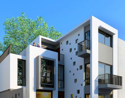 namiu house 3d model max