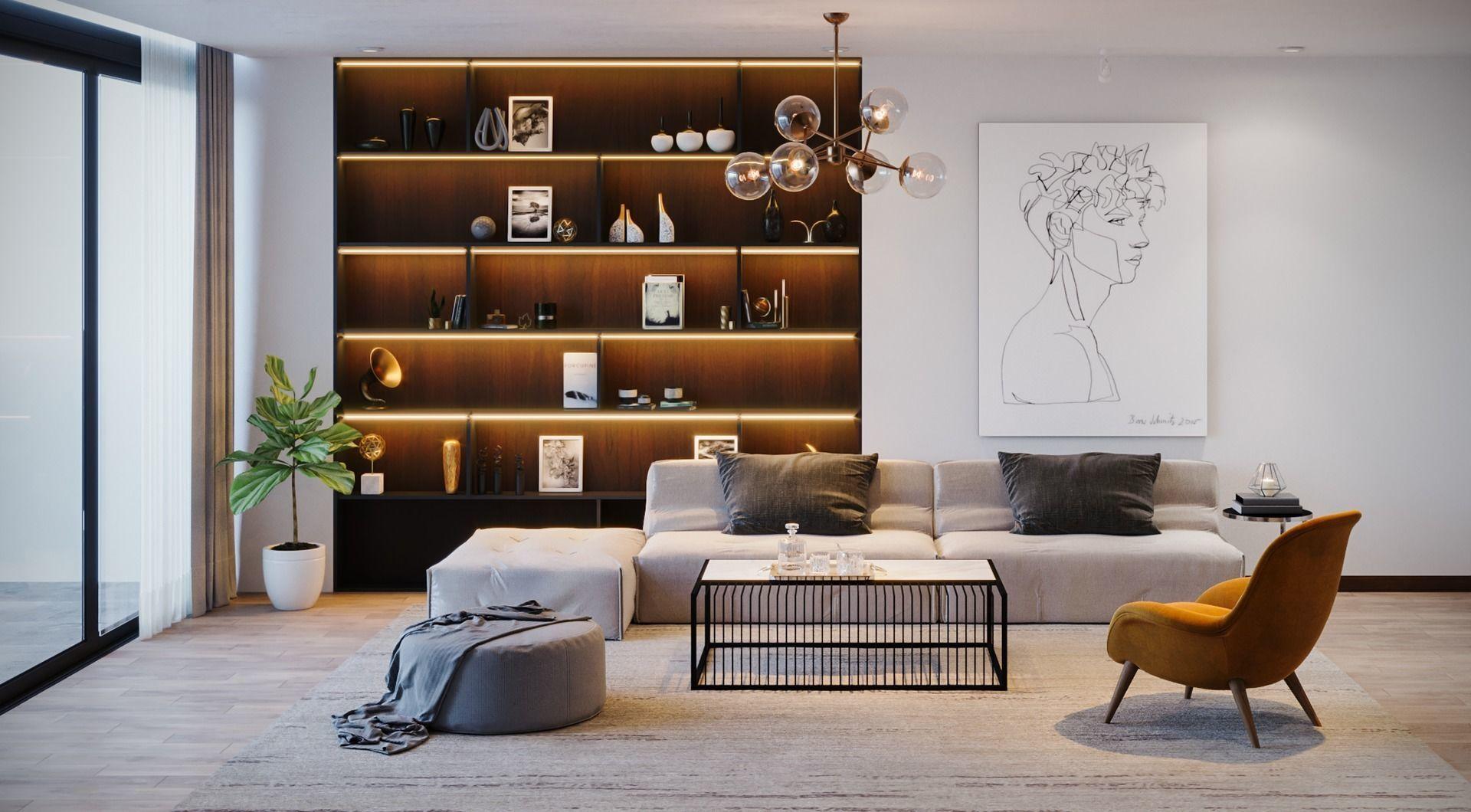 Duplex Apartment 2 3d Model