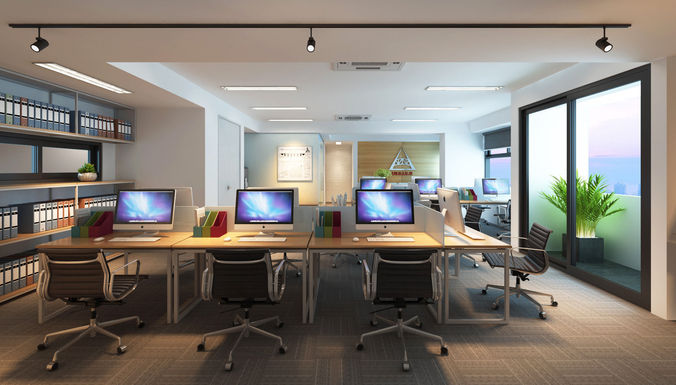 vpy office 3d model max 1