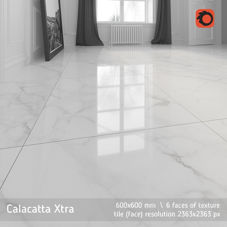 Calacatta Xtra Floor Tile Cgtrader