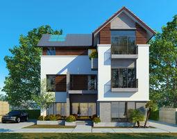 3d cn house