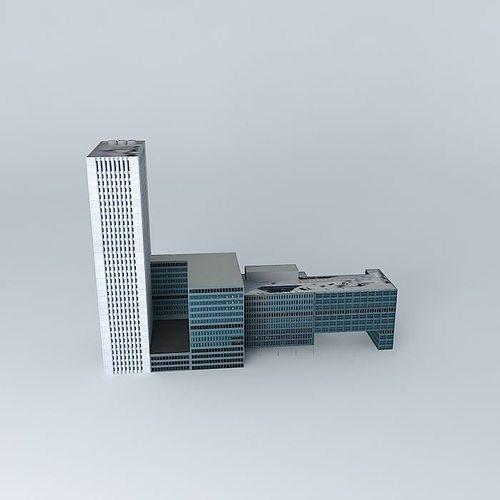 erasmus mc 3d model max obj 3ds fbx stl skp 1
