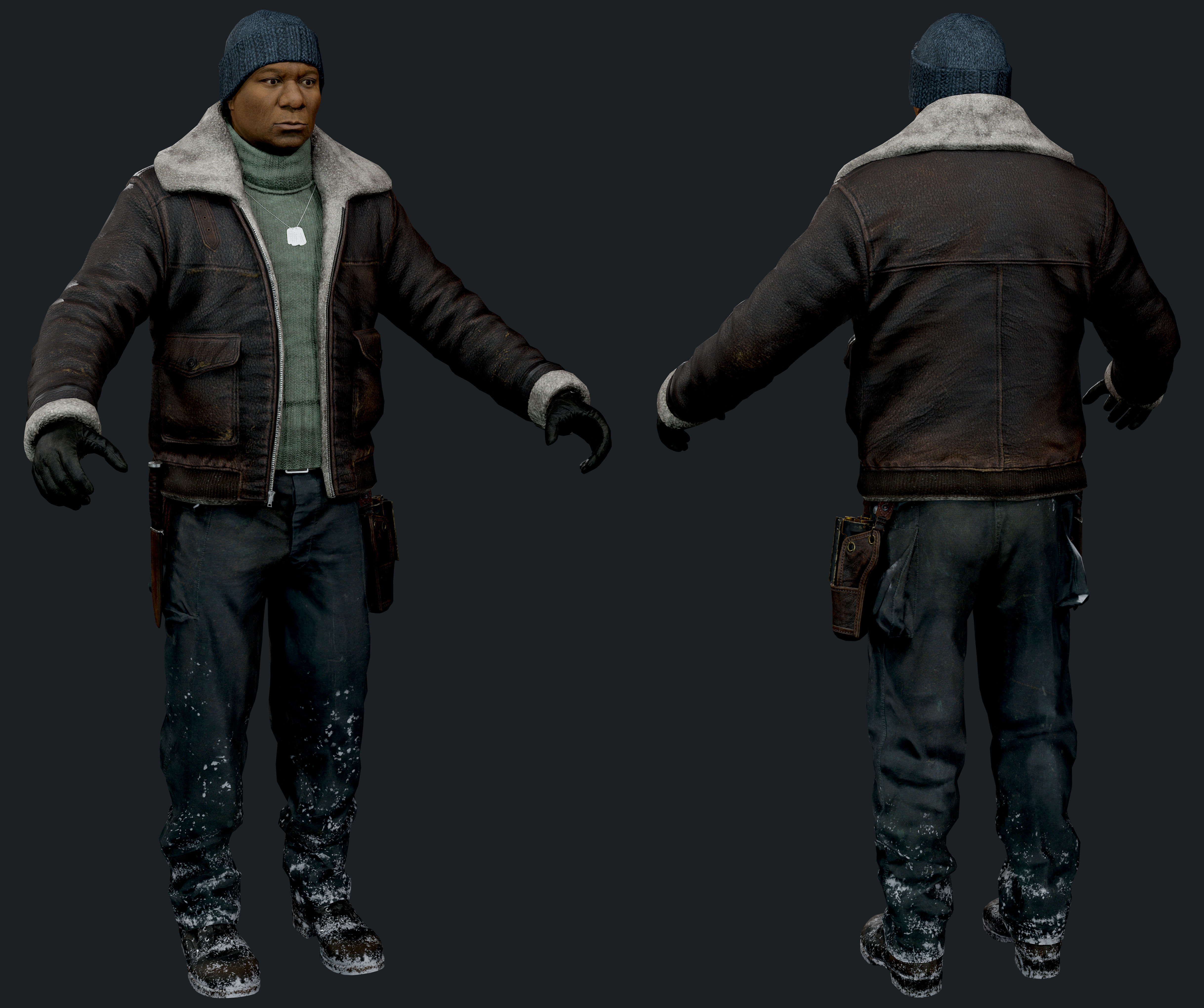 Rigged Movie Star Realistic Character | 3D model