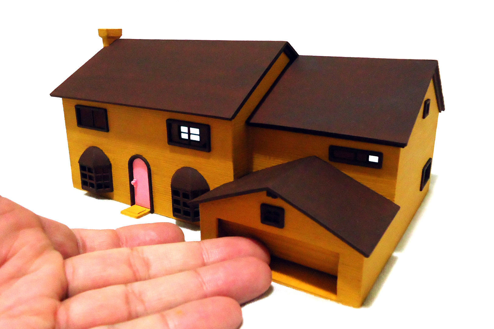 The Simpsons House 3d Model 3d Printable Stl