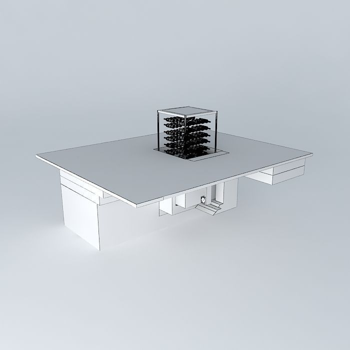 Frederic cellar tabary version 2 3d model max obj 3ds - Frederic tabary ...