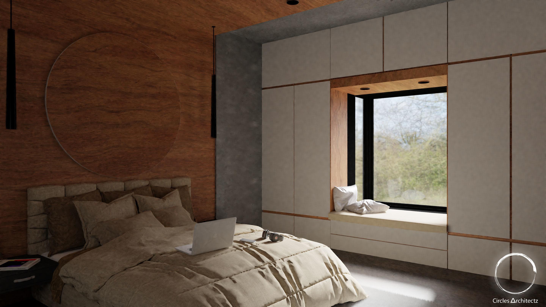 Bedroom Window Bench