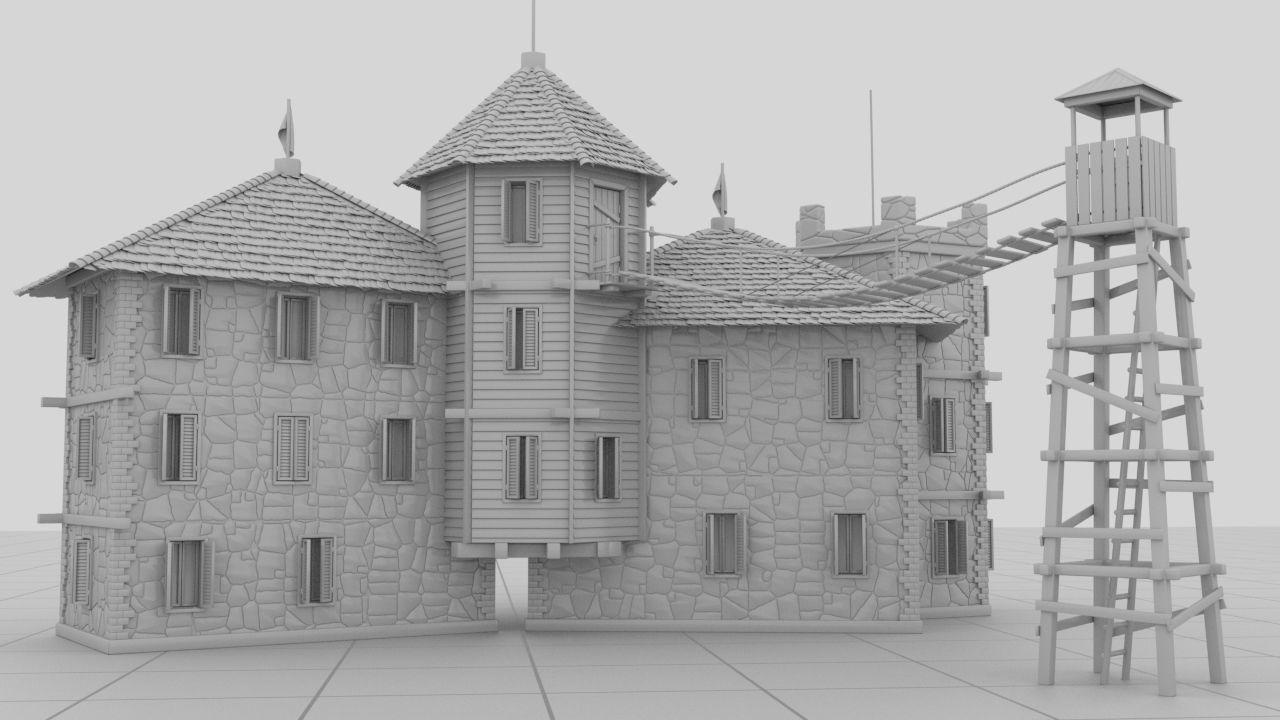 Small Strange Castle