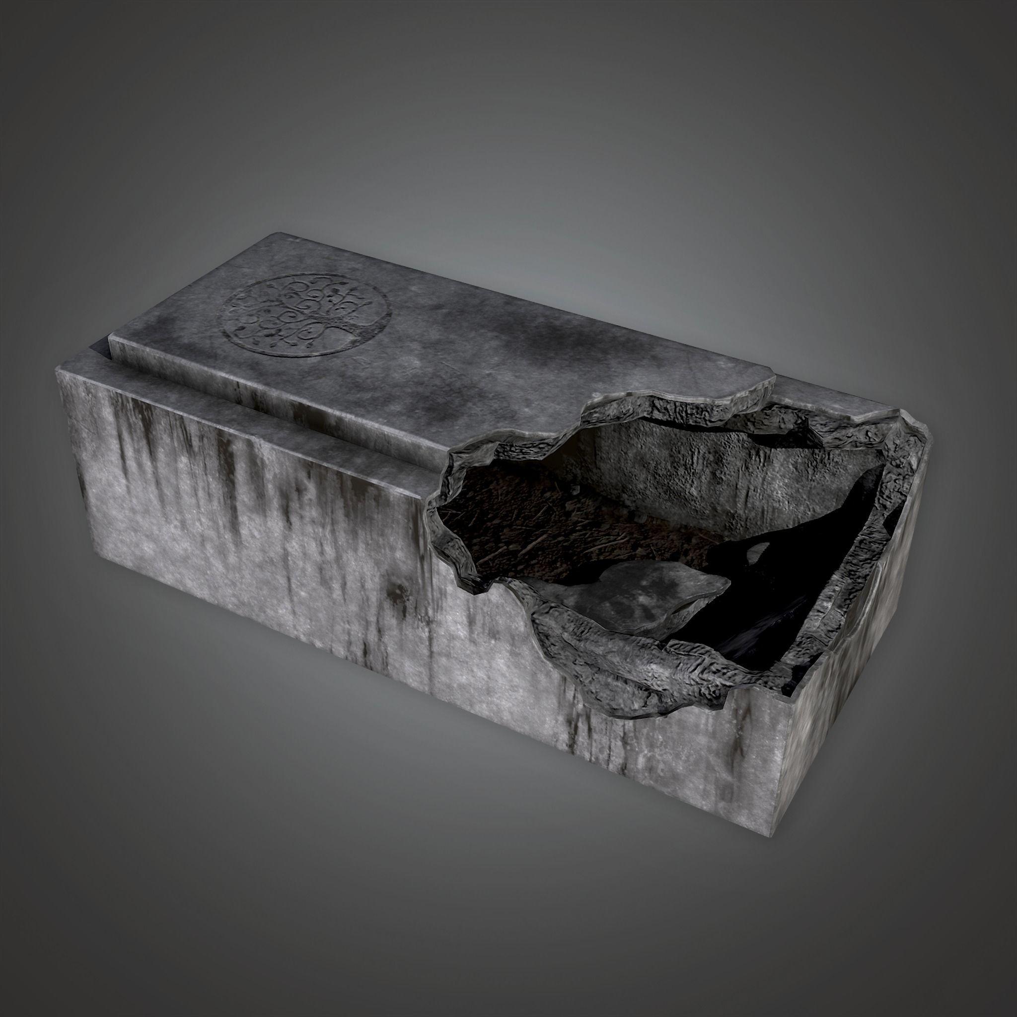 CEM - Stone Grave Cemetery 1 - PBR Game Ready
