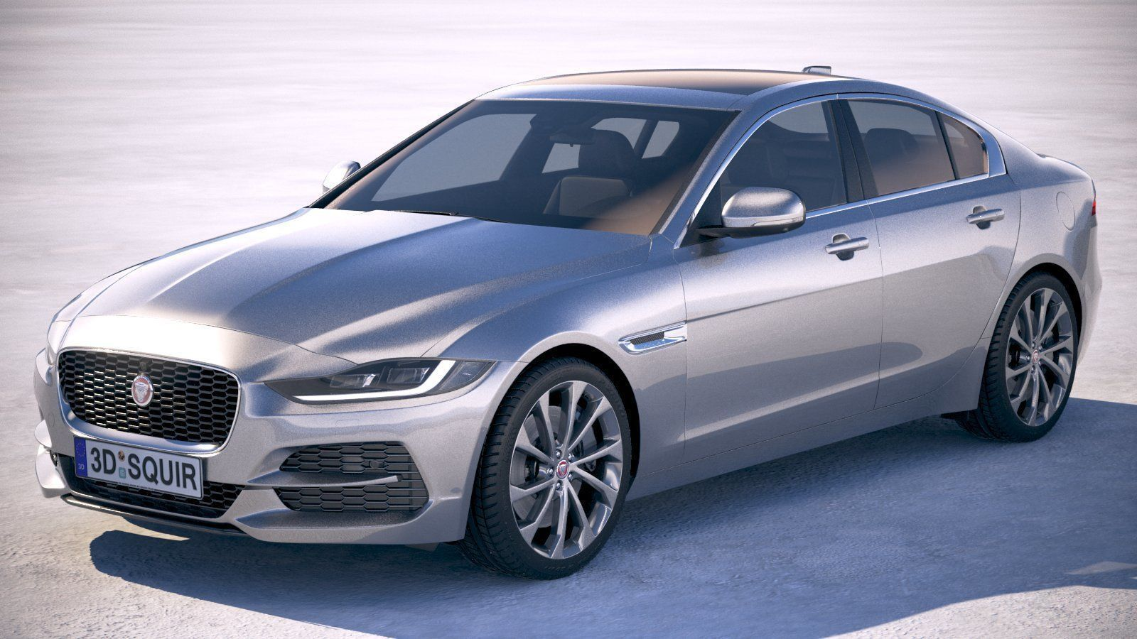 Jaguar Xe 2020 3d Model