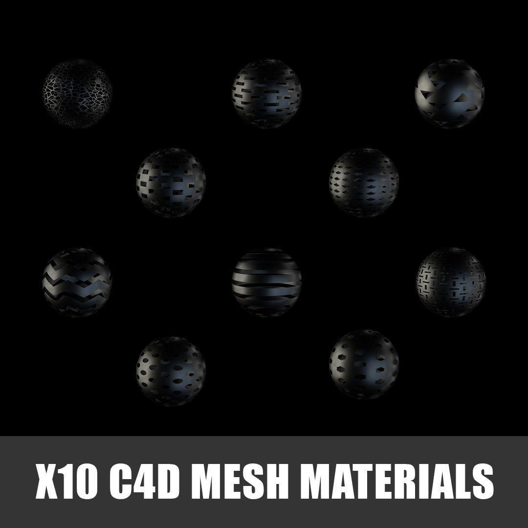 C4d Materials