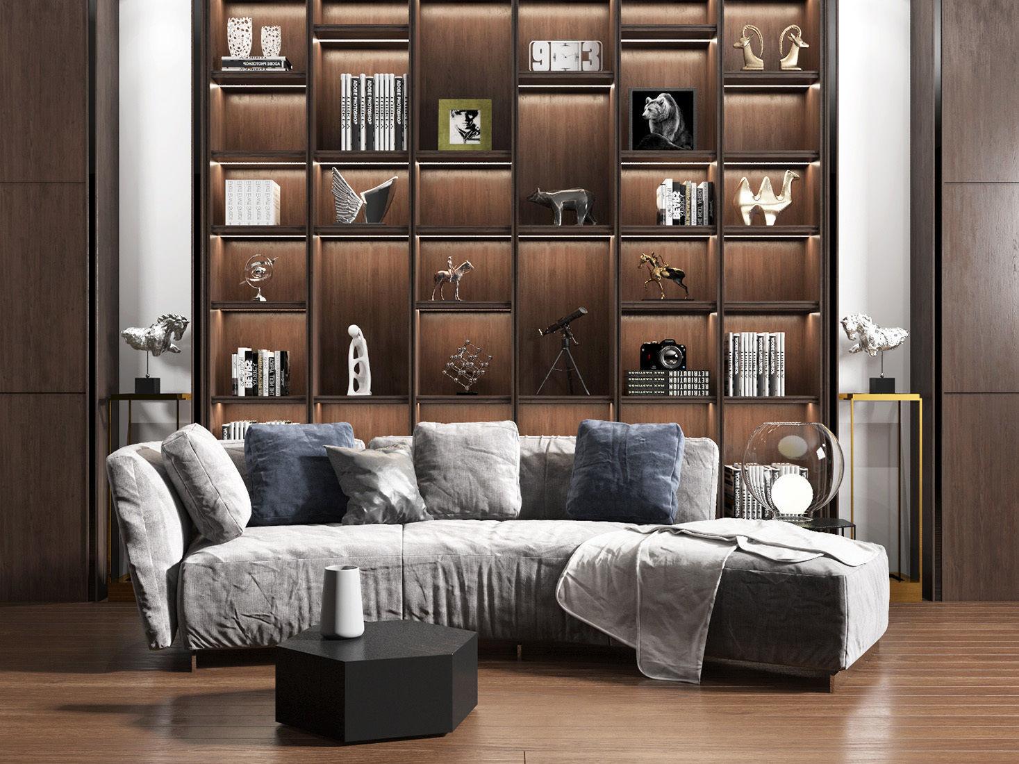 sofa combination 14 | 3D model