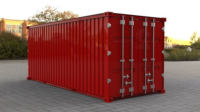 industry container BOX container Pack 3D Model