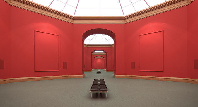 Art Gallery Red