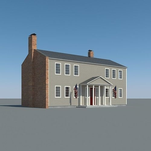 Colonial House 001