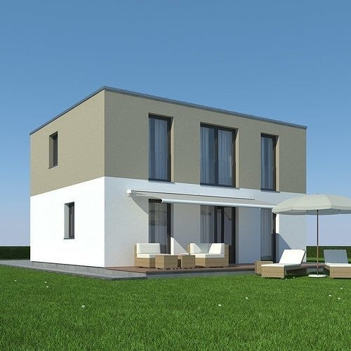 House with Garden 001