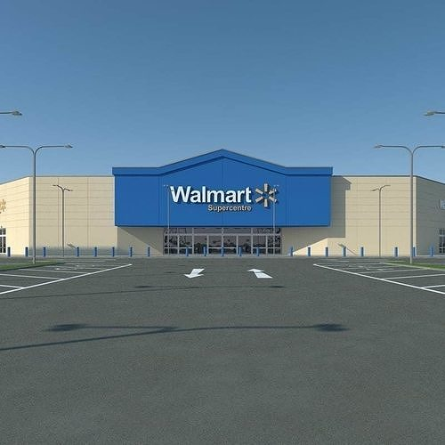 Walmart with Parkinglot