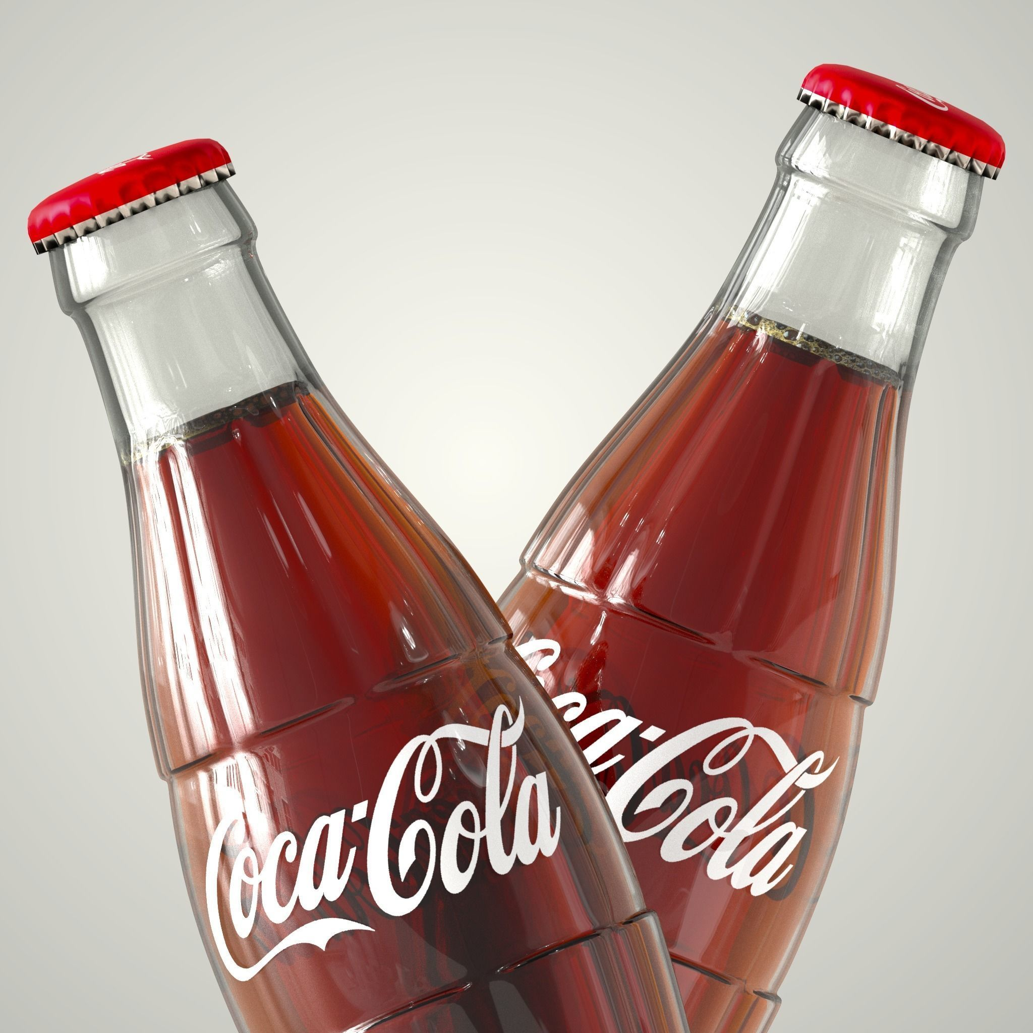 Coca-Cola With  South Hill Arcahorn Trays