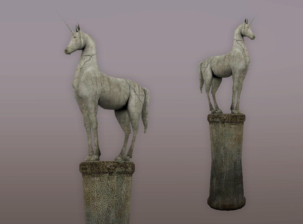 Statue Unicorn