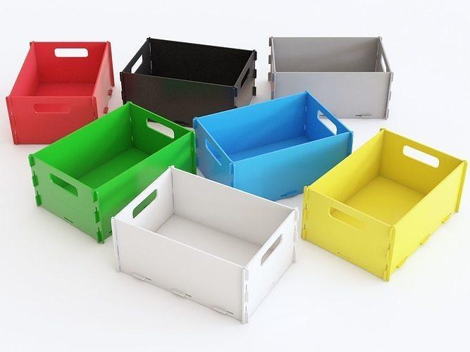 Plastic crate 07