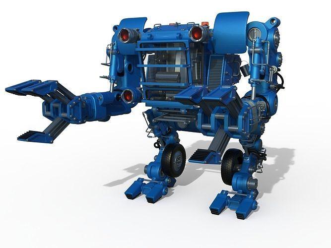 Sci-Fi robot Worker Powerloader