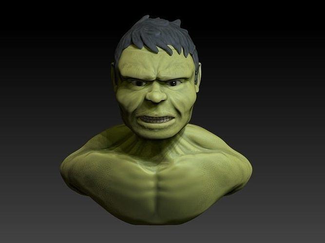 Hulk bust