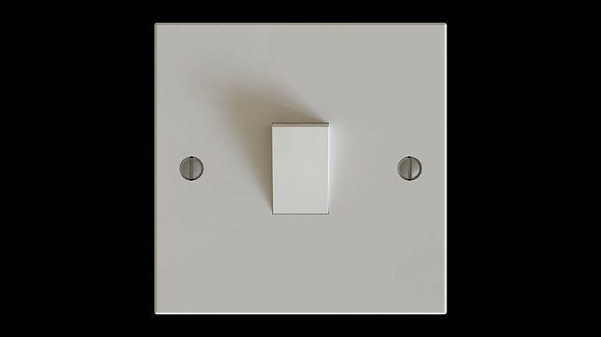 Generic Low Poly Light Switch