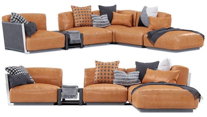 Vulcano Flexform Outdoor Sofa 4