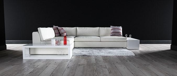 Sofa set - Interior Furniture 06
