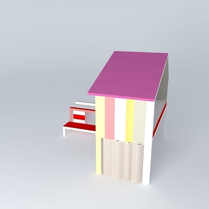 The small house toane fr d ric tabary design 3d model max - Frederic tabary ...