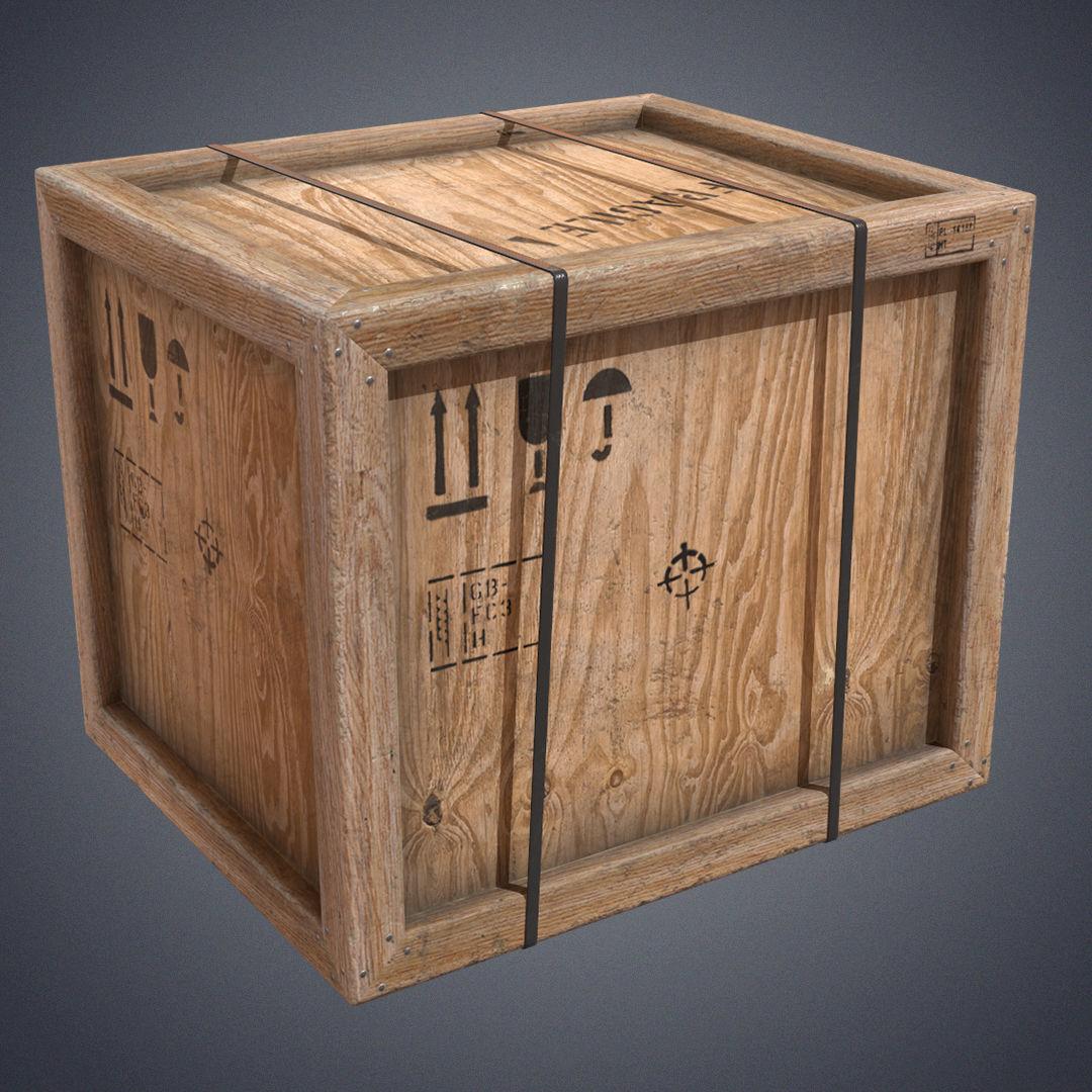 Crate industrial transport