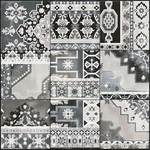 ABK Play Carpet Mix Grey Set 2