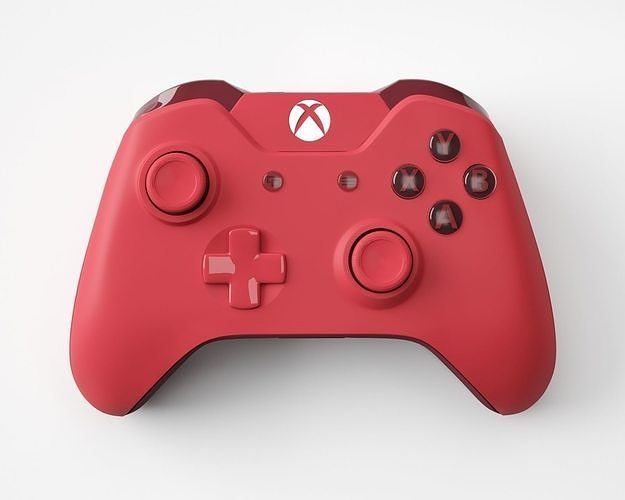Xbox One Red Edition Controller