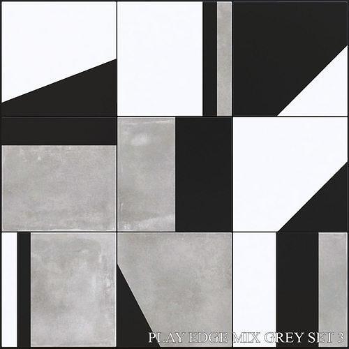 ABK Play Edge Mix Grey Set 3