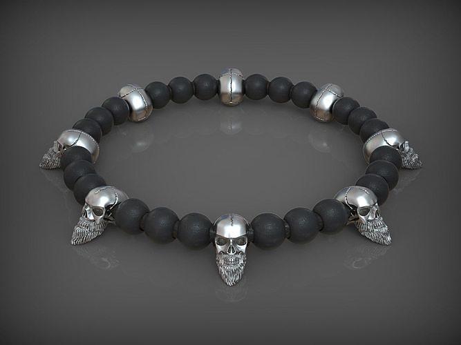 Bead Skull 04 2