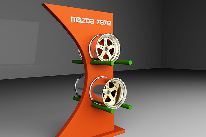 Mazda 787B Rims