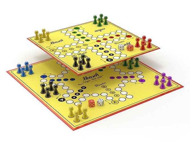 Do not get angry  man game or English Ludo